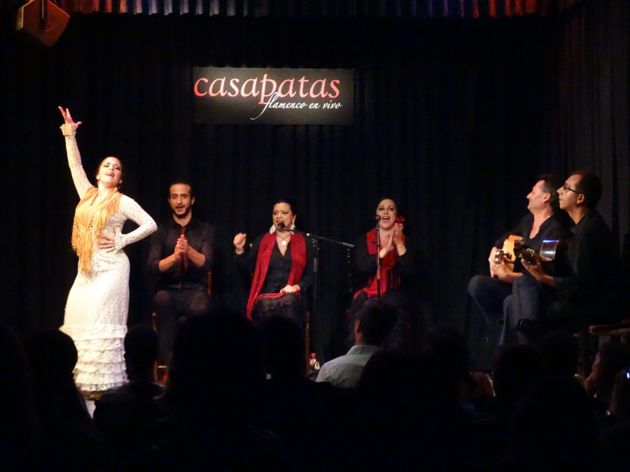Flamenco en madrid casa patas lid n pati o - Casa patas flamenco ...