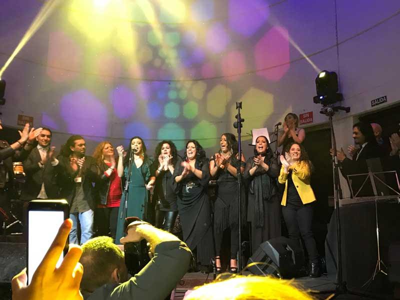 Homenaje a Tina de las Grecas por Saray Muñoz