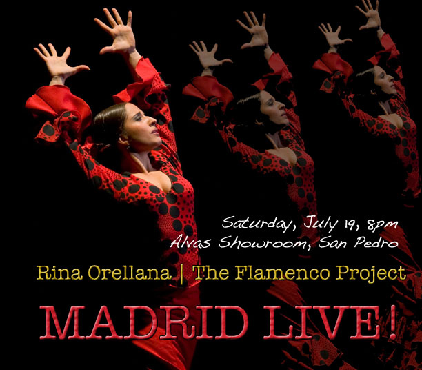 "Flamenco en Los Angeles ""MADRID LIVE!!"""