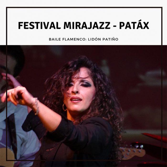 Patáx en el Festival Mirajazz