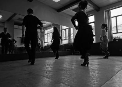 Clase de Flamenco Lidon Patiño