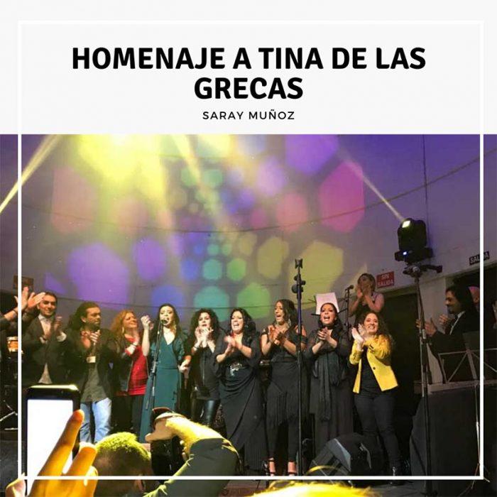 Homenaje a Tina de las Grecas