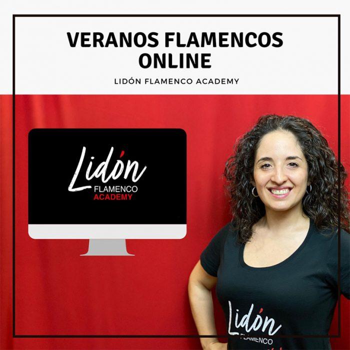 """Veranos Flamencos Online en """"Lidón Flamenco Academy"""""""