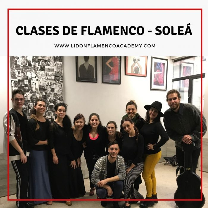 Clases de Flamenco por Soleá