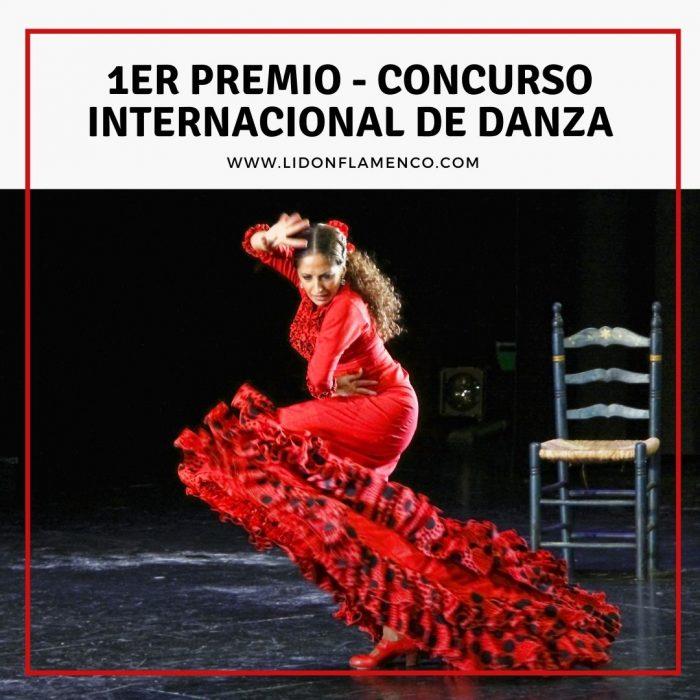 1er Premio en el Concurso internacional de Danza de Almería